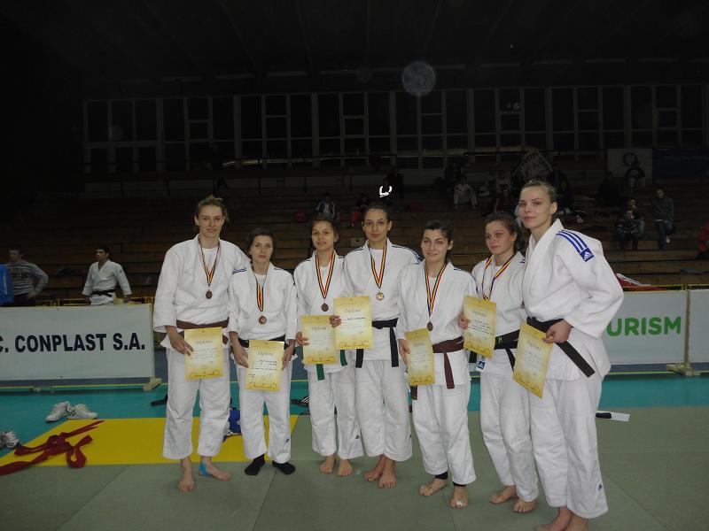 Echipa de Judo Feminin U Cluj