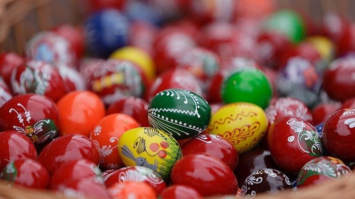Mii de persoane au participat la Târgul de Paşte al saşilor bistriţeni de la Ostermarkt