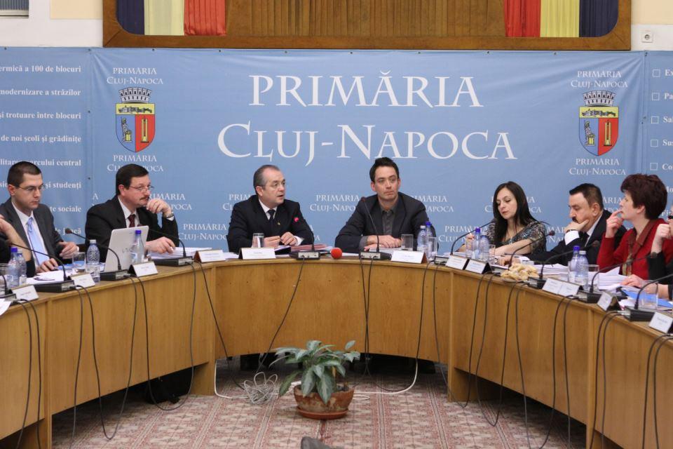 Sedinta Consiliul Local Cluj