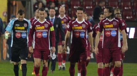 CFR Cluj – Pandurii Târgu Jiu 2-3. Campioana unei mari deziluzii