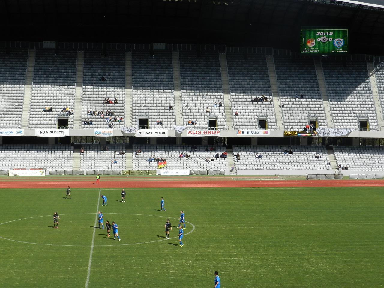 Olimpia Cluj - FCM Targu Mures