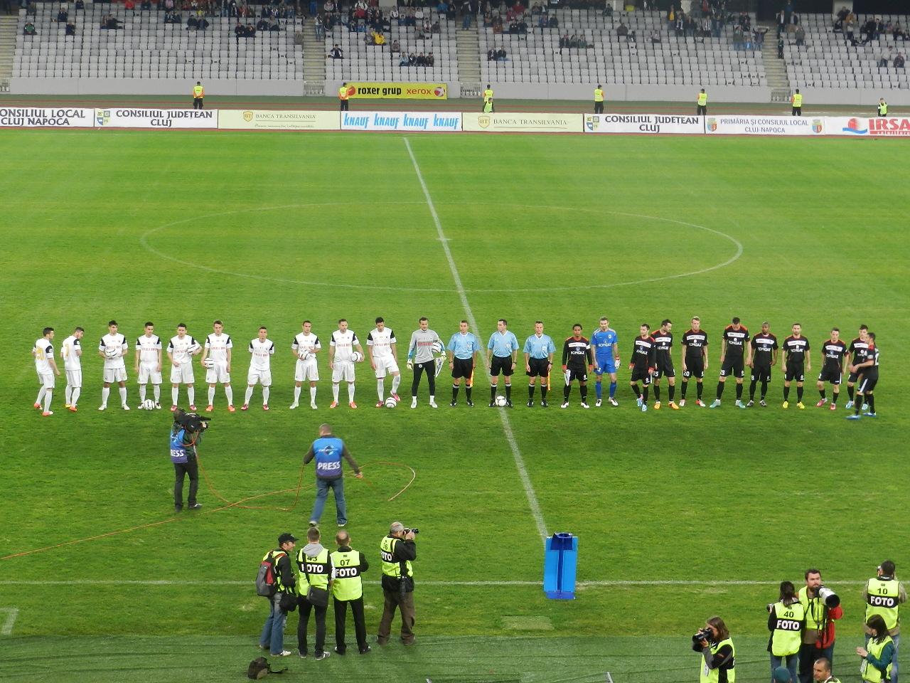 """U"" Cluj vs Mediaş"