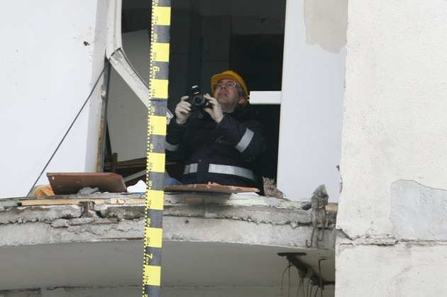 O femeie din Cluj a murit in urma unei explozii in apartamentul sau
