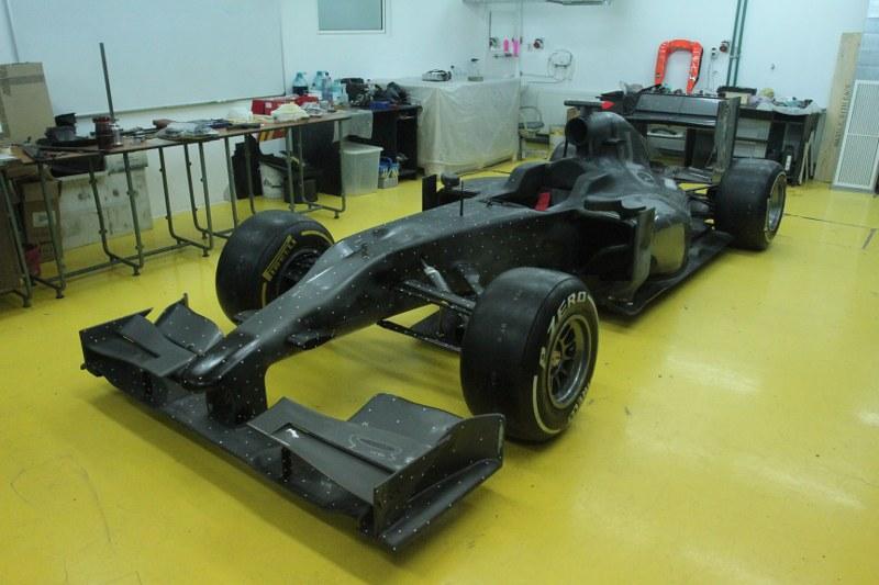 Monopost de Formula 1 construit la Universitatea Tehnica Cluj