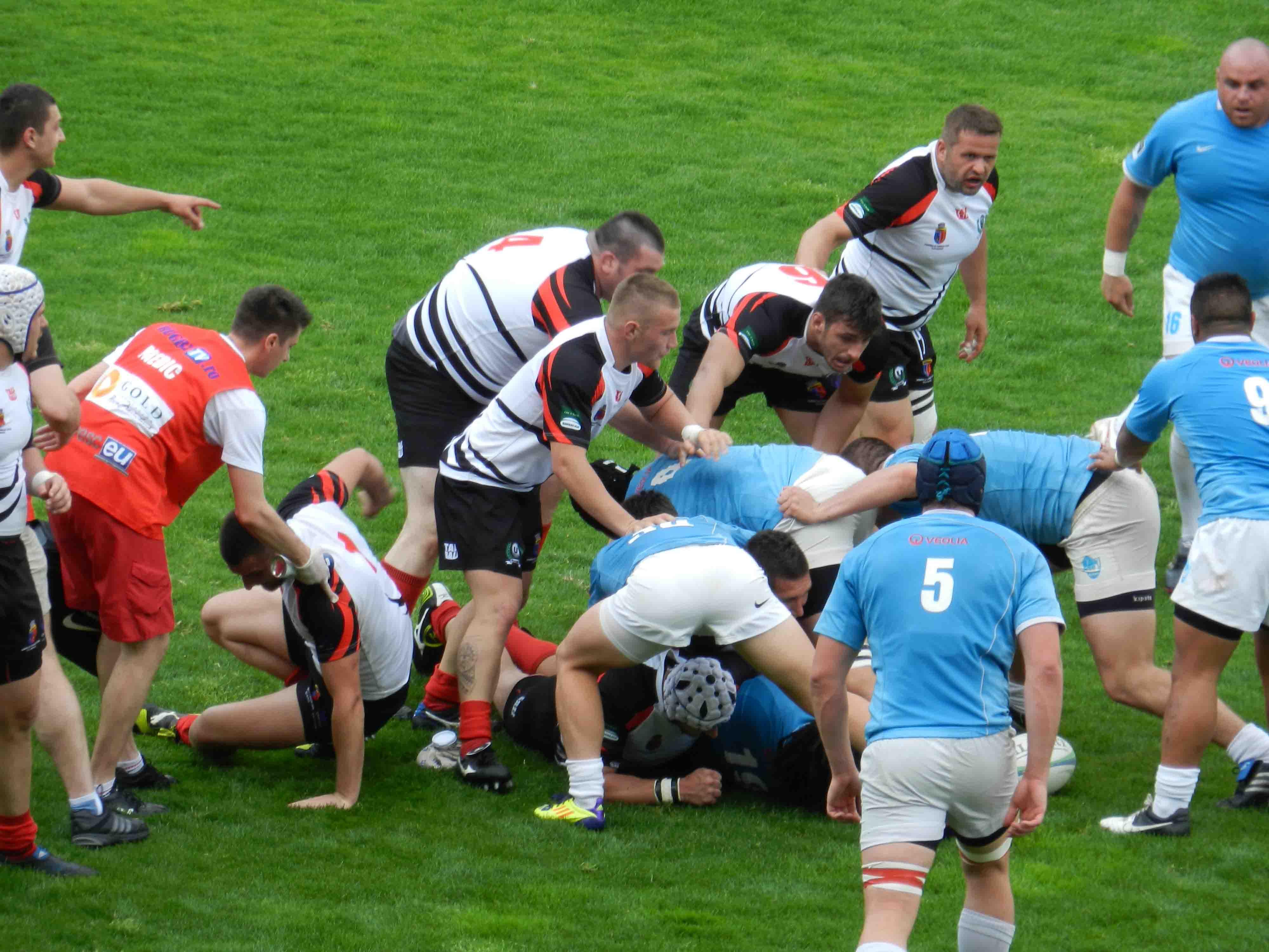 U Cluj vs CSM Ştiinţa Baia Mare 3-67. Rugbyştii clujeni au pierdut la scor în faţa vicecampioanei