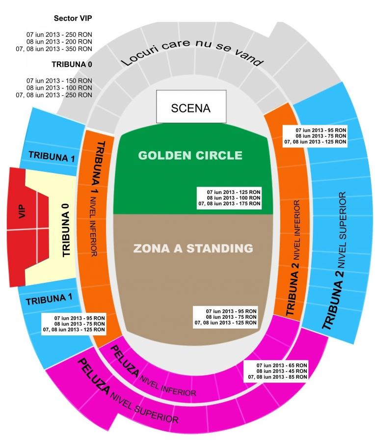 Pretul biletelor la concertele Deep Purple si UB40 de pe Cluj Arena