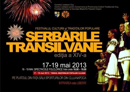 """Festival folcloric """"Serbarile Transilvane"""" in acest weekend pe platoul Salii Sporturilor"""
