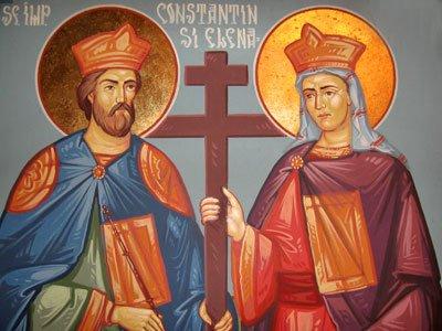 Peste 1.780.000 de români isi serbeaza azi onomastica de Sfintii Constantin şi Elena