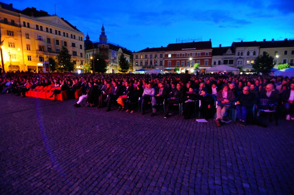Deschidere oficiala TIFF 2013 - Piata Unirii