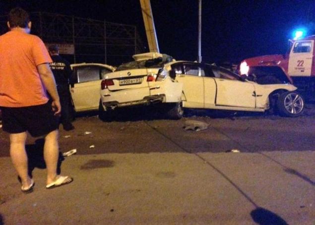 FOTO. Cel mai groaznic accident a avut loc in Rusia. Soferul a murit pe loc