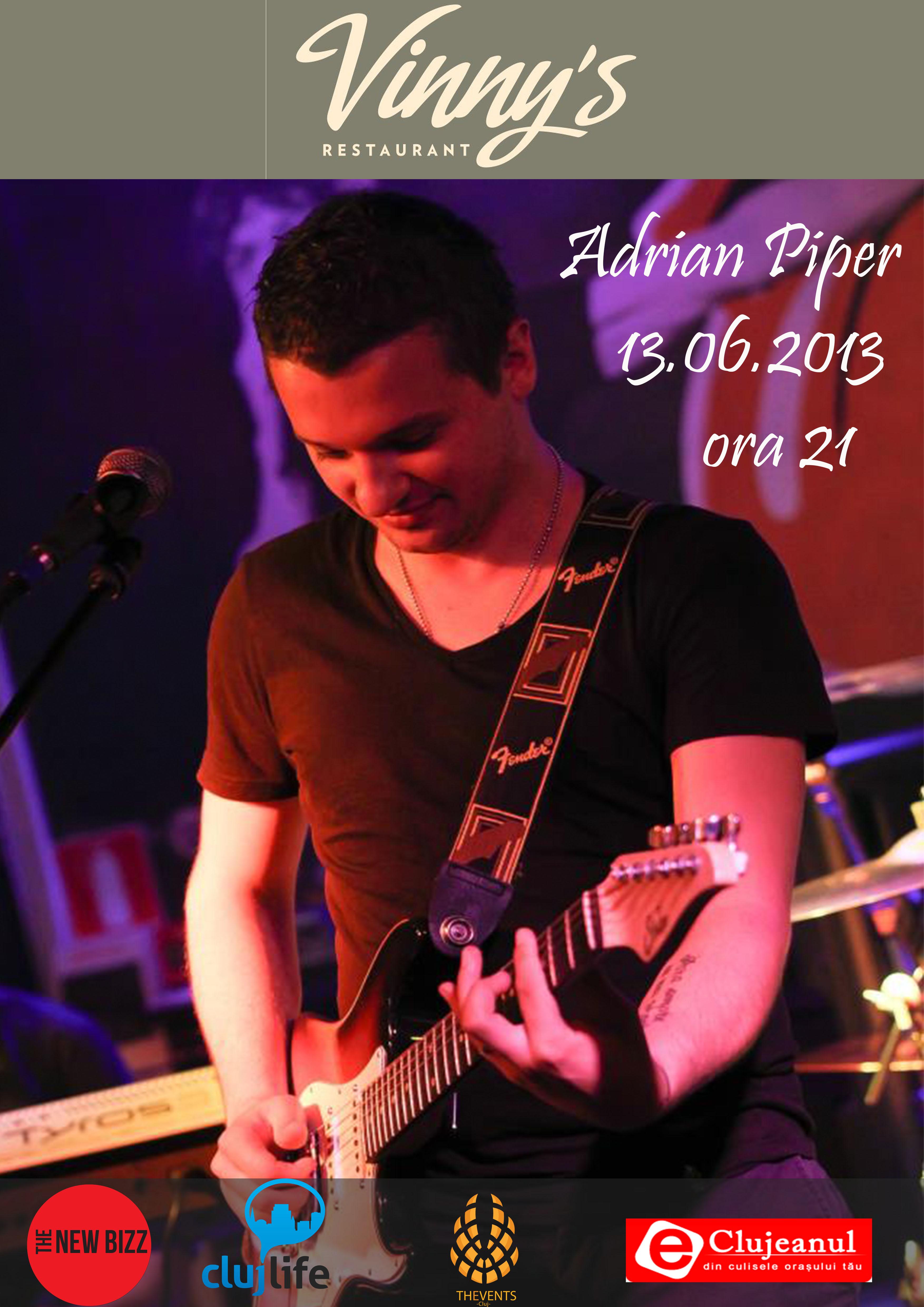 adrian piper @ vinny's