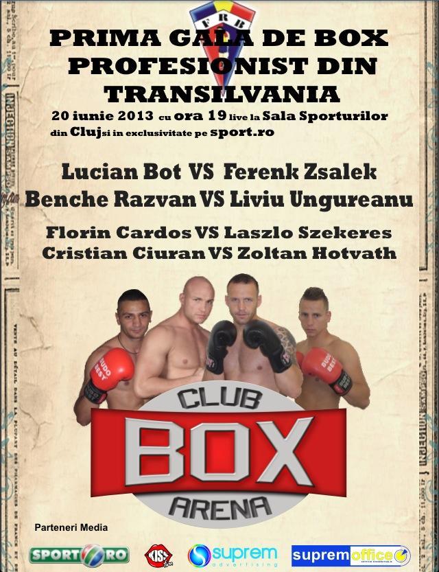 gala box profesionist - box club arena