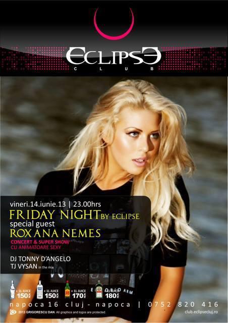 roxana nemes @ eclipse club