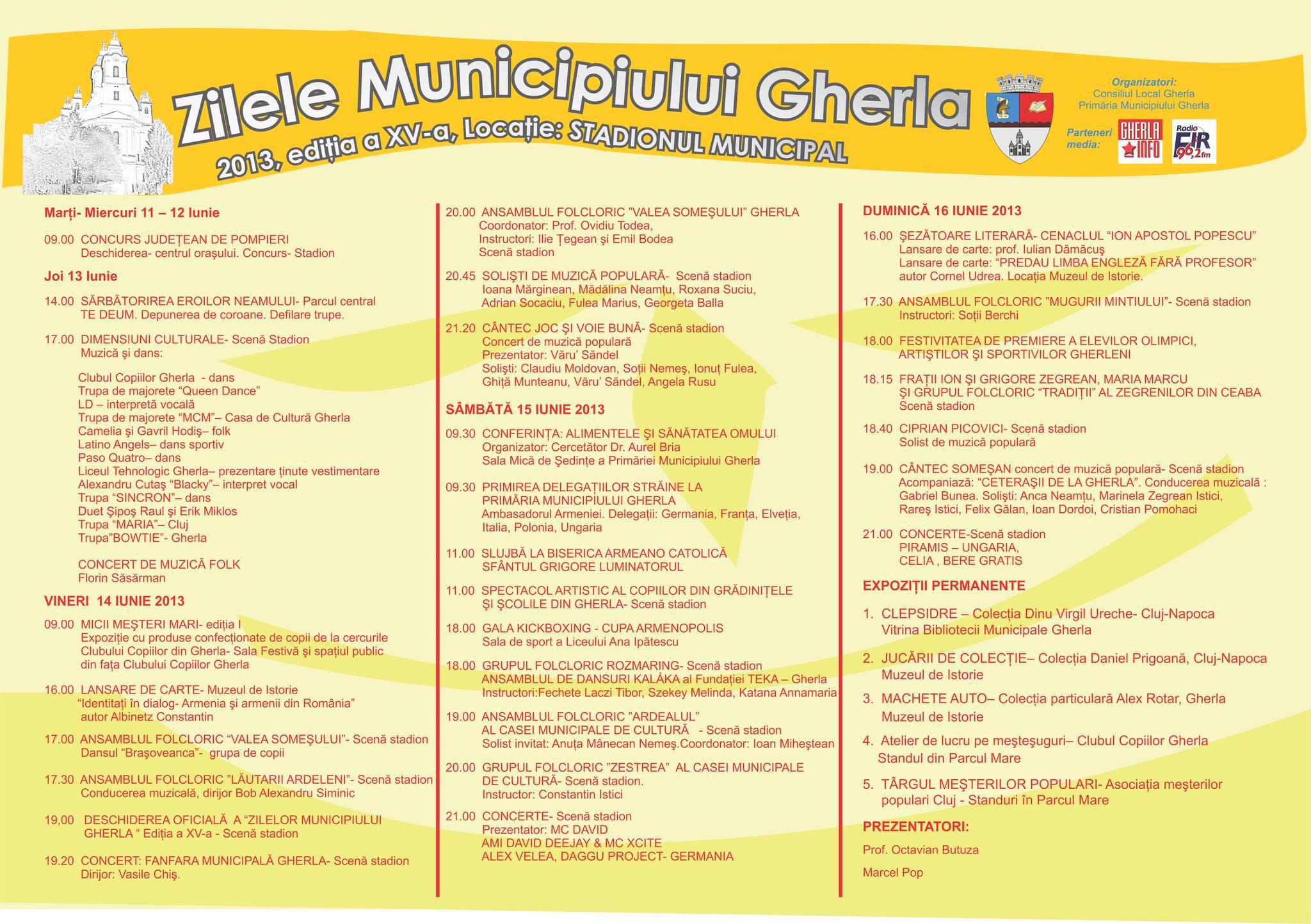 zilele municipiului gherla 2013