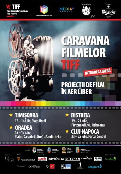 """Caravana TIFF poposeşte """"acasă"""", la Cluj-Napoca"""