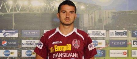 Claudiu Voiculeţ a semnat pe trei sezoane cu CFR Cluj