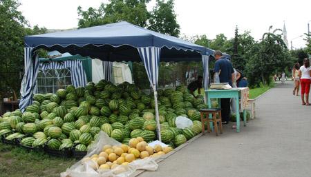 Vânzătorii de pepeni din Cluj, amenințați cu instanțele de judecată de către municipalitate