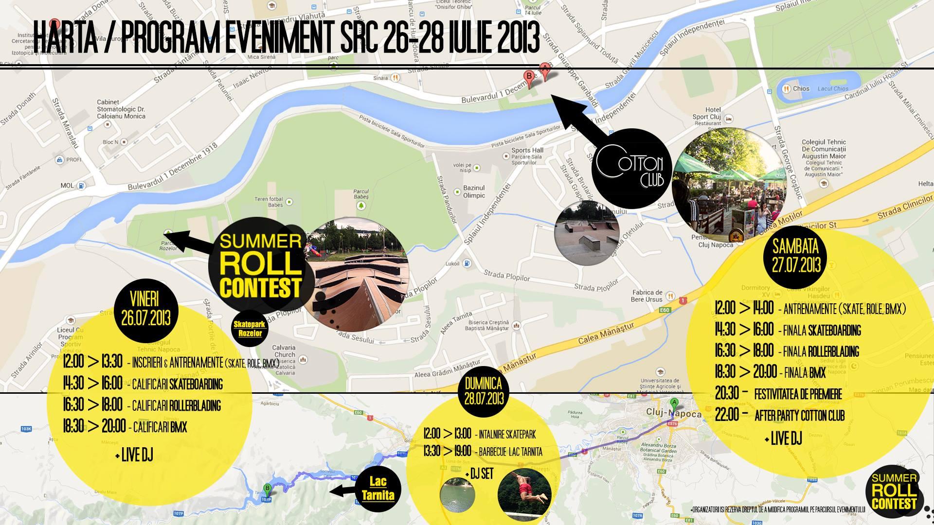 program eveniment src 2013 parcul rozelor