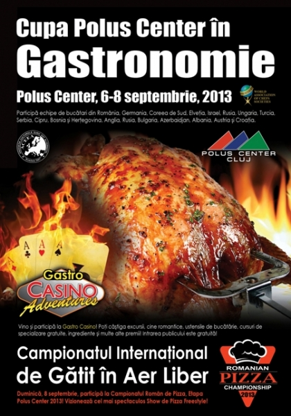Campionatul Internaţional de Gătit în Aer Liber, în perioada 6-8 septembrie 2013