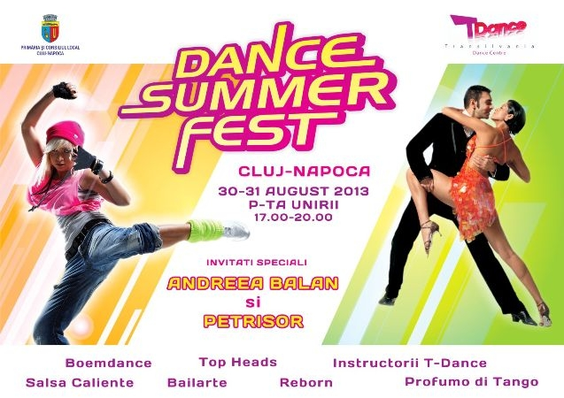 Spectacol de dans şi concerte începând de azi în Piaţa Unirii, la Dance Summer Fest
