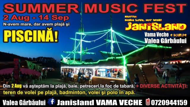 """Grupul Janis aduce spiritul din Vama Veche la Cluj. """"Janisland"""", centru de agrement pe Valea Gârbăului!"""