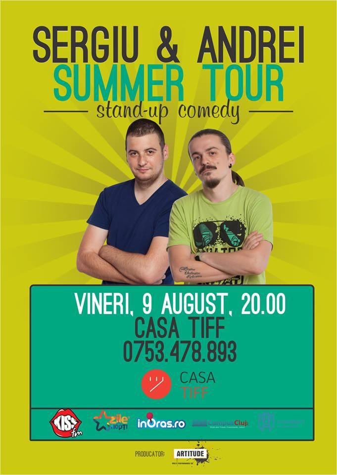 Stand-up cu Sergiu si Andrei @ Casa TIFF