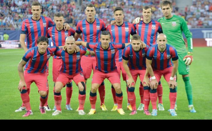 Steaua s-a calificat în grupele Ligii Campionilor