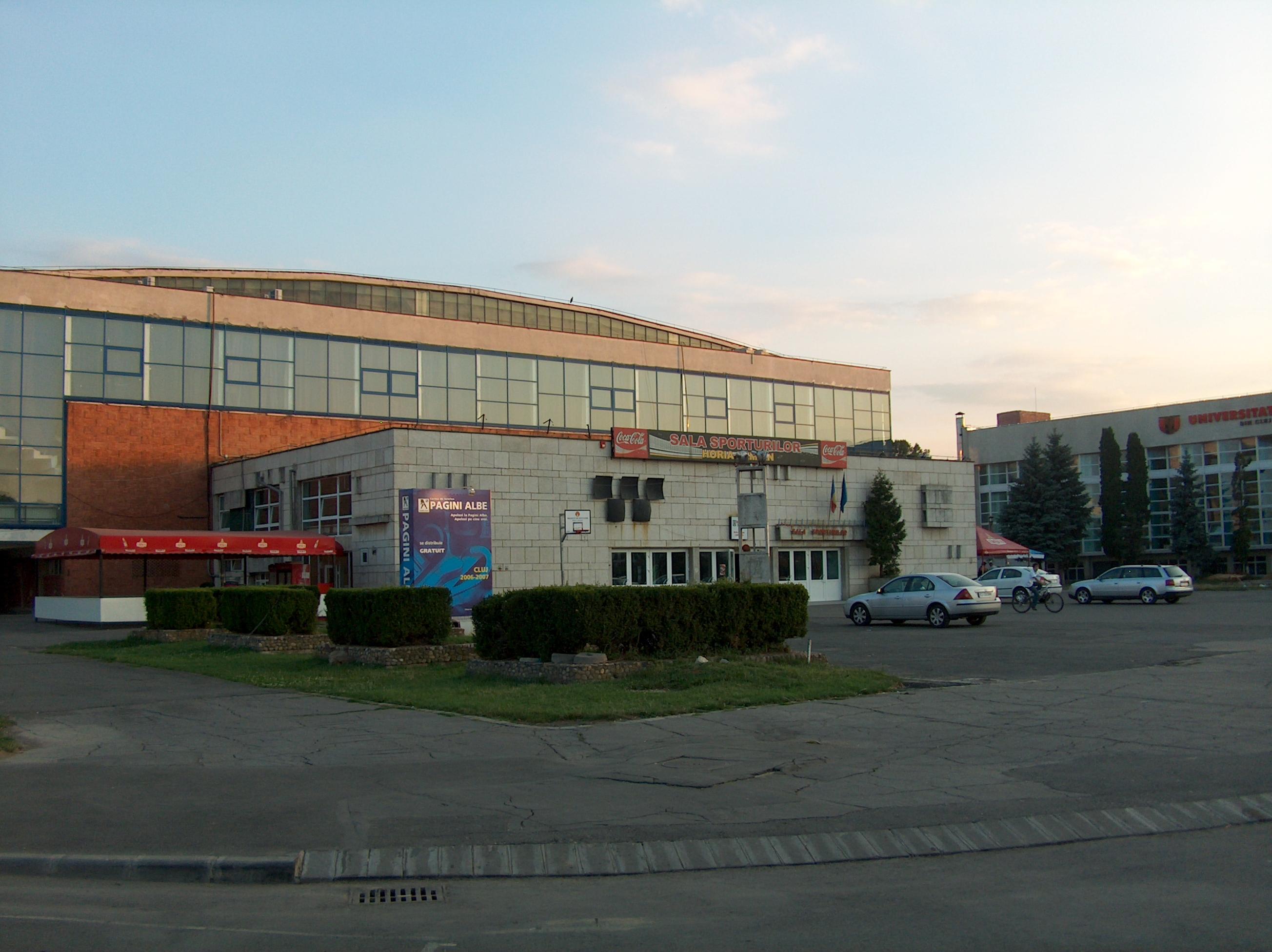 """Sala Sporturilor """"Horia Demian"""", Cluj"""