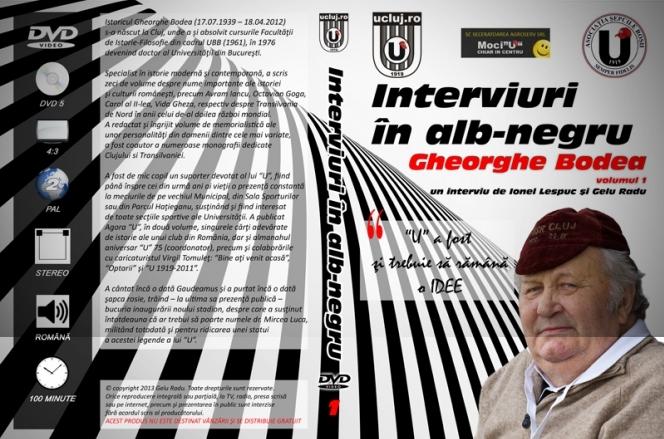 Astazi se lanseaza primul volum din interviul cu istoricul Gheorghe Bodea