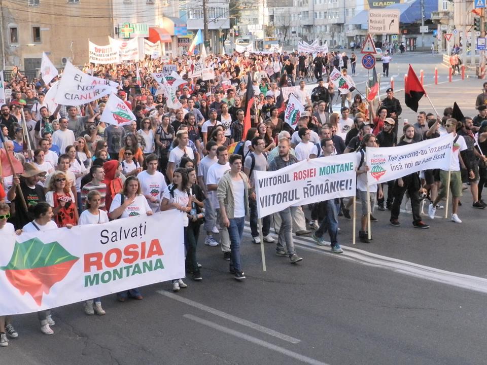 protest rosia montana 8 sept 2013