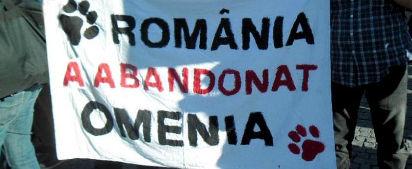 romania a abandonat omenia