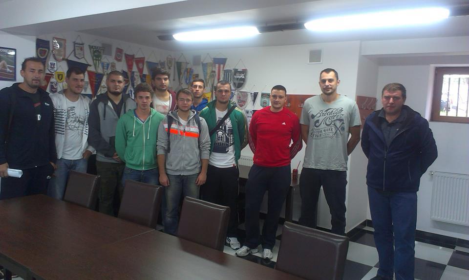 echipa baschet masculin CS Universitatea Cluj
