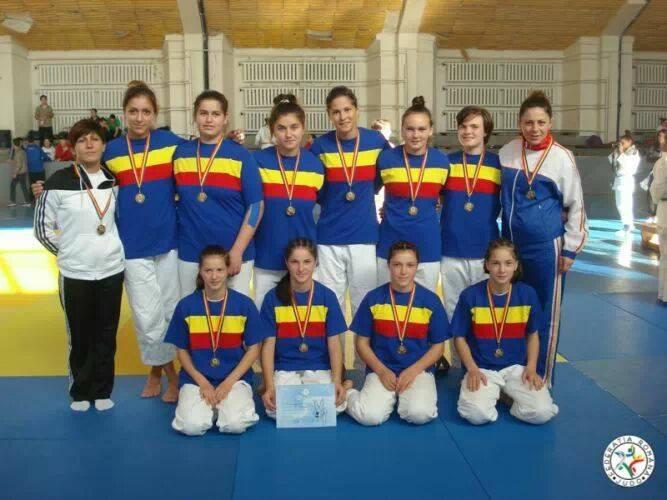 echipa de judo U Cluj
