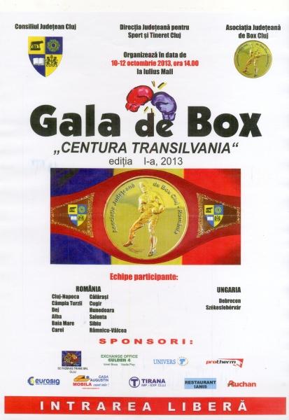 gala de box centura transilvania