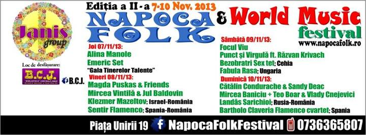 napoca folk & world music festival 2013