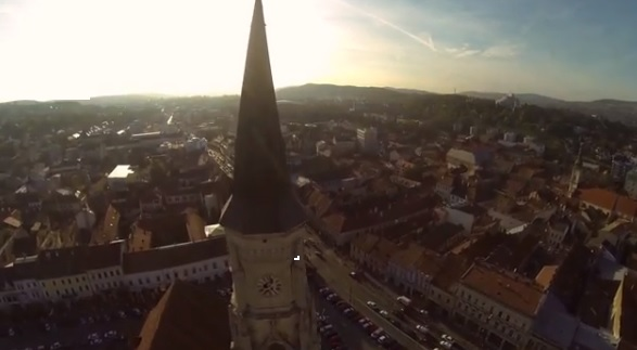Clujul văzut dintre nori. O filmare despre oraşul tău aşa cum nu l-ai mai văzut niciodată