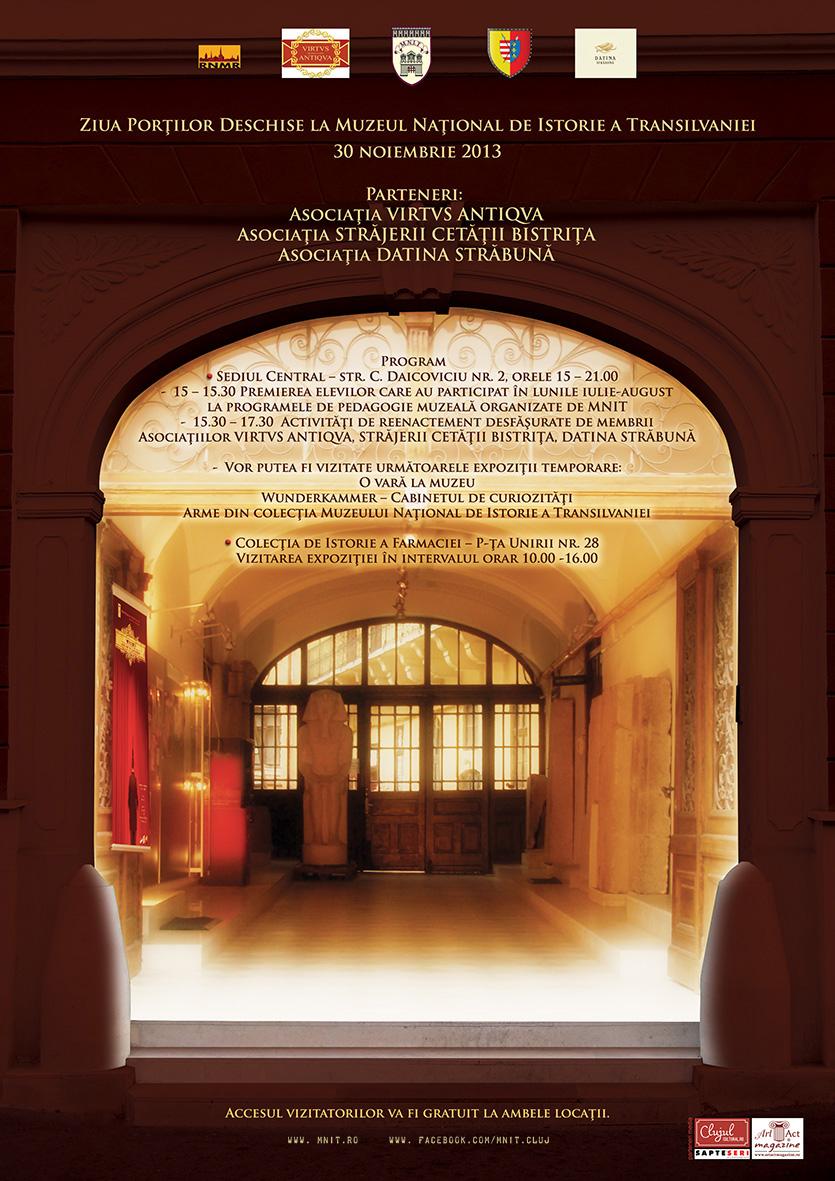 Ziua Portilor Deschide la Muzeul National de Istorie a Transilvaniei