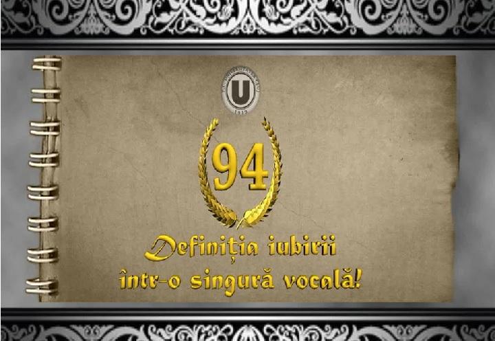 U Cluj, 94 ani de istorie