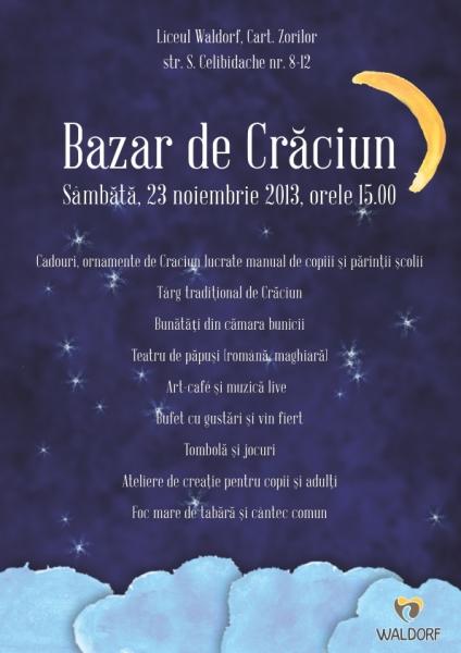 bazar traditional de craciun la waldorf 2013