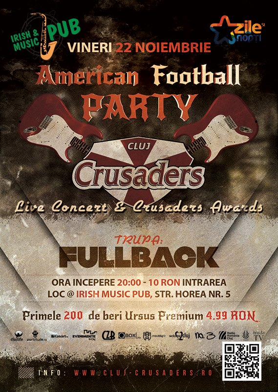 clujcrusaders concert fullback