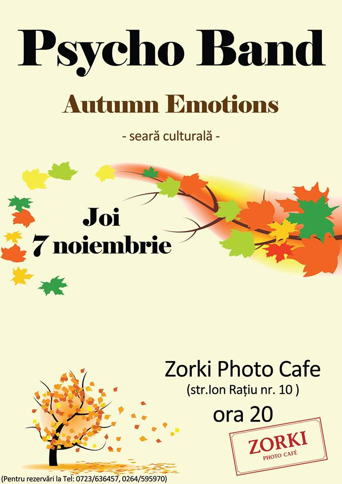 seara culturala - zorki photo cafe
