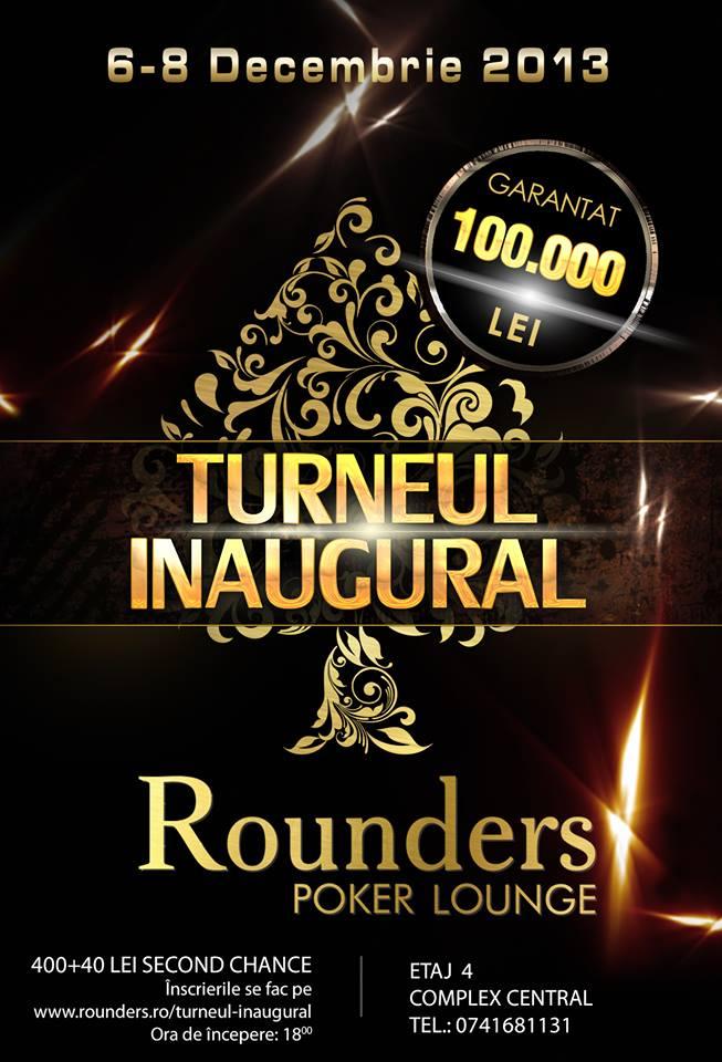 turneu inaugural de poker