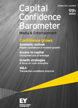 Capital Confidence Barometer – Media & Entertainment