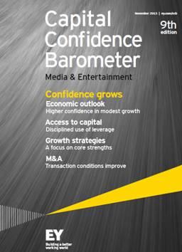 Capital Confidence Barometer – Media & Entertainment