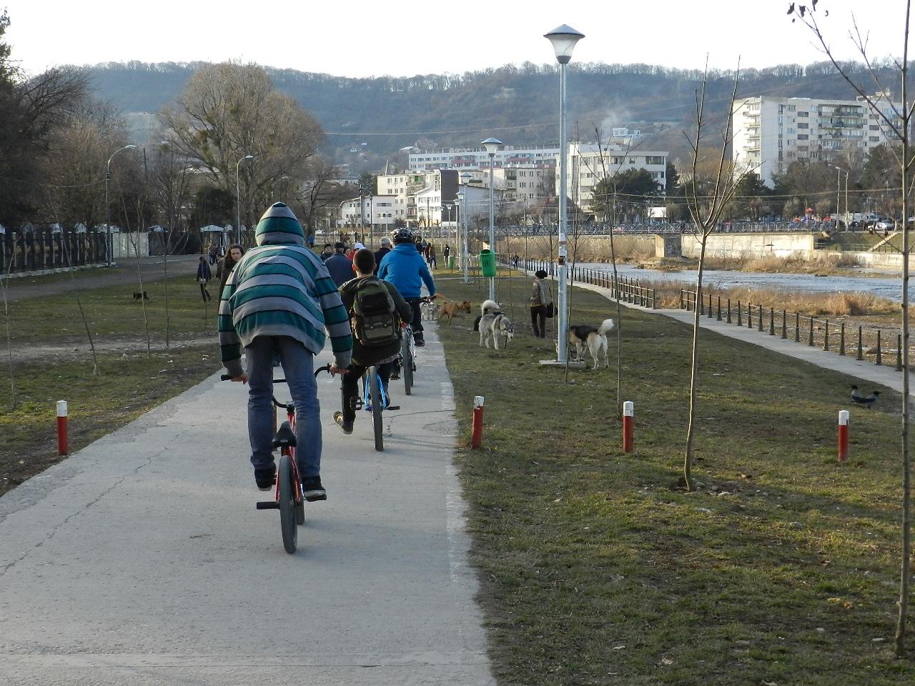 Apelul bicicliştilor clujeni! Promovarea bicicletei ca mijloc de transport în comun