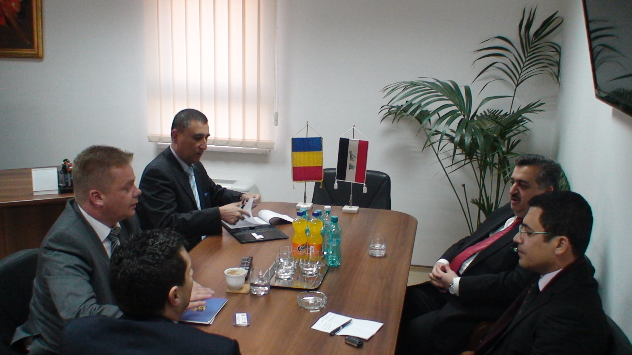 ambasadorul republicii irak, in vizita la CJ Cluj