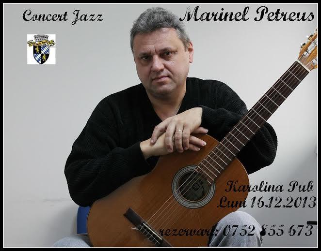 Jazz LIVE cu Marinel Petreuş în Karolina Pub