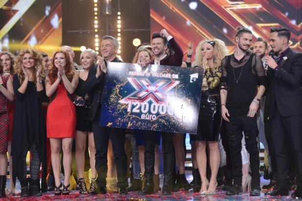 Florin Ristei este marele câştigător X FACTOR, sezonul al 3-lea!