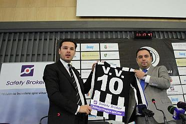 """Safety Broker, primul sponsor la """"U"""" Cluj adus de Vlad Munteanu"""
