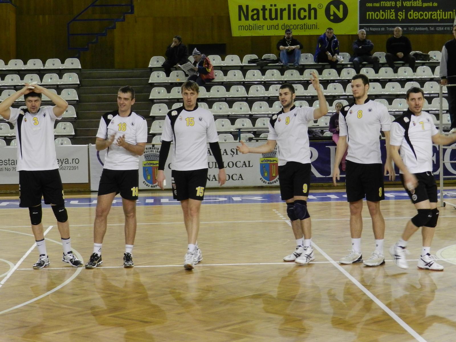 U Cluj volei masculin